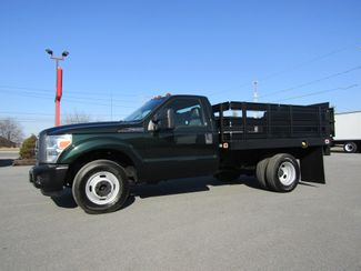 2012 Ford F350 9' Flatbed Stake Truck 2wd with Lift Gate in Lancaster, PA, PA 17522