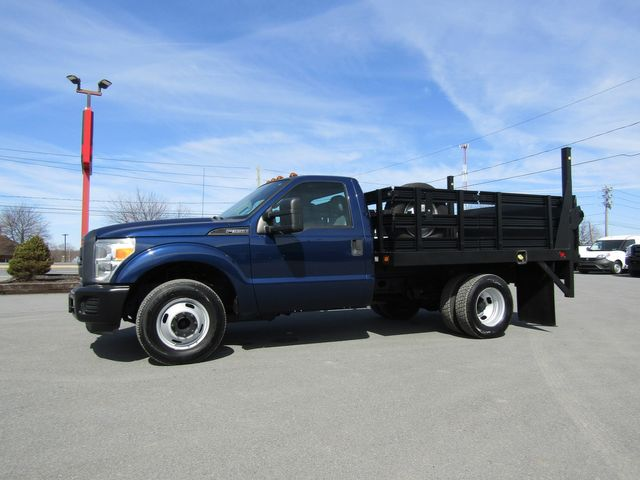 2012 Ford F350 9' Flatbed Stake Truck 2wd with Lift Gate