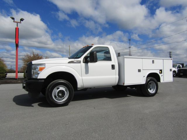 2012 Ford F350 9' Utility 4x4 with Lift Gate