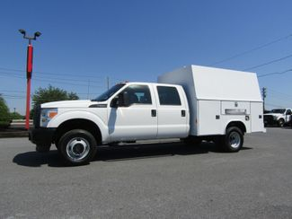2012 Ford F350 Crew Cab 4x4 with 9' Reading Enclosed Utility in Ephrata, PA 17522