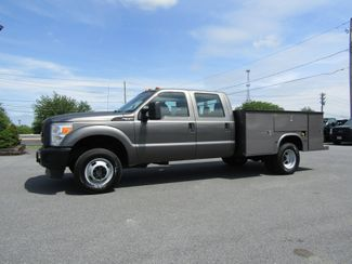 2012 Ford F350 Crew Cab 4x4 with 9' Utility Bed in Lancaster, PA, PA 17522