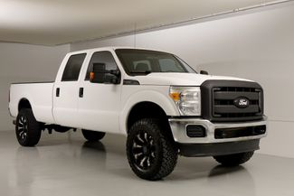 2012 Ford F350SD XL Powerstroke Crew Cab 4WD New Kevlar Spray White in Dallas, Texas 75220
