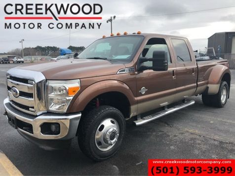 2012 Ford Super Duty F-350 Lariat 4x4 Diesel Dually Leather Chrome New Tires in Searcy, AR