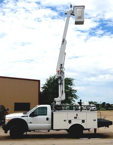 2012 Ford F450 ALTEC 42FT BUCKET TRUCK  in Fort Worth, TX