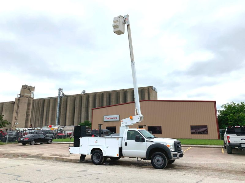 2012 Ford F450 BUCKET TRUCK    city TX  North Texas Equipment  in Fort Worth, TX