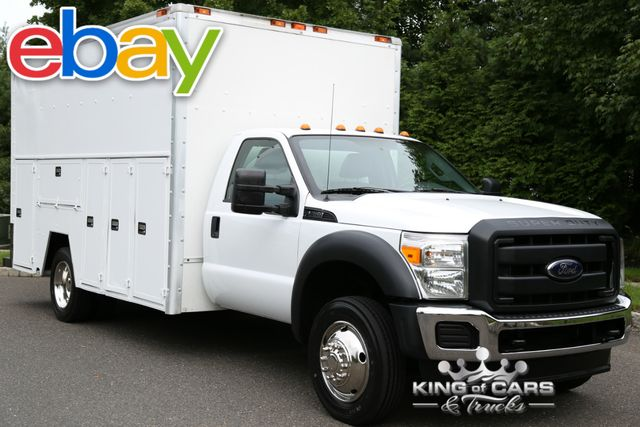 2012 Ford F450 Reg Cab DRW BOX UTILITY SERVICE BODY 79K MILES 2-OWNER in Woodbury New Jersey, 08096