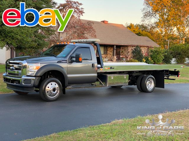 2012 Ford F550 2-Car Tow TRUCK FLATBED ROLLBACK LOW MILES V10 GAS in Woodbury, New Jersey 08093