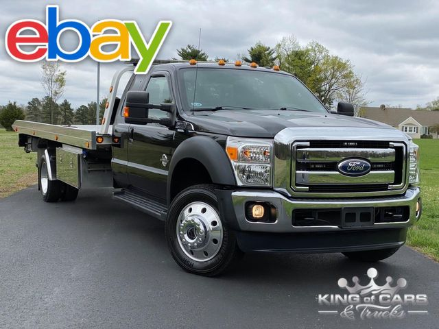 2012 Ford F550 4x4 Diesel 6.7L SUPERCAB LARIAT ROLLBACK TOW TRUCK 34K MILES in Woodbury, New Jersey 08093
