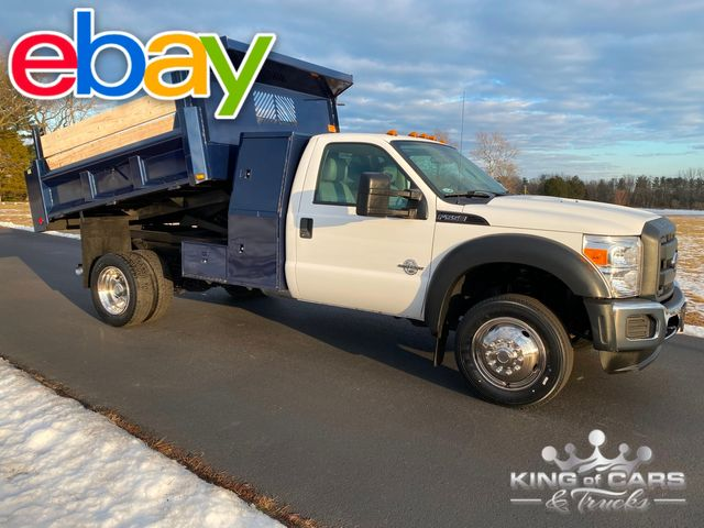 2012 Ford F550 6.7l Diesel L-PACK MASON DUMP BODY ONLY 20K MILES WOW in Woodbury, New Jersey 08093
