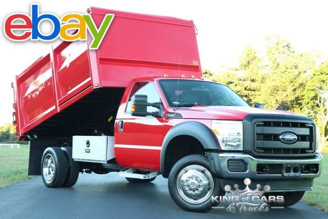 2012 Ford F550 Landscape CONTRACTOR DUMP 6.8L V10 35K MILES 1-OWNER in Woodbury New Jersey, 08096