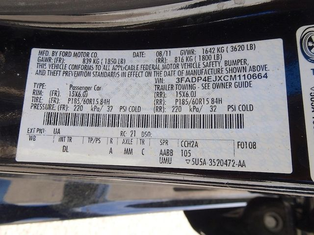 2012 Ford Fiesta SE Madison, NC 44