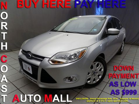 2012 Ford Focus As low as $999 DOWN in Cleveland, Ohio