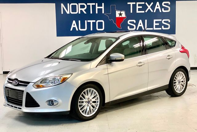 2012 Ford Focus SEL Leather Sunroof