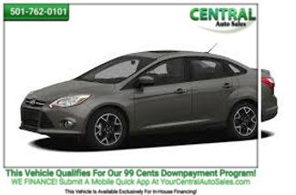 2012 Ford Focus SE | Hot Springs, AR | Central Auto Sales in Hot Springs AR
