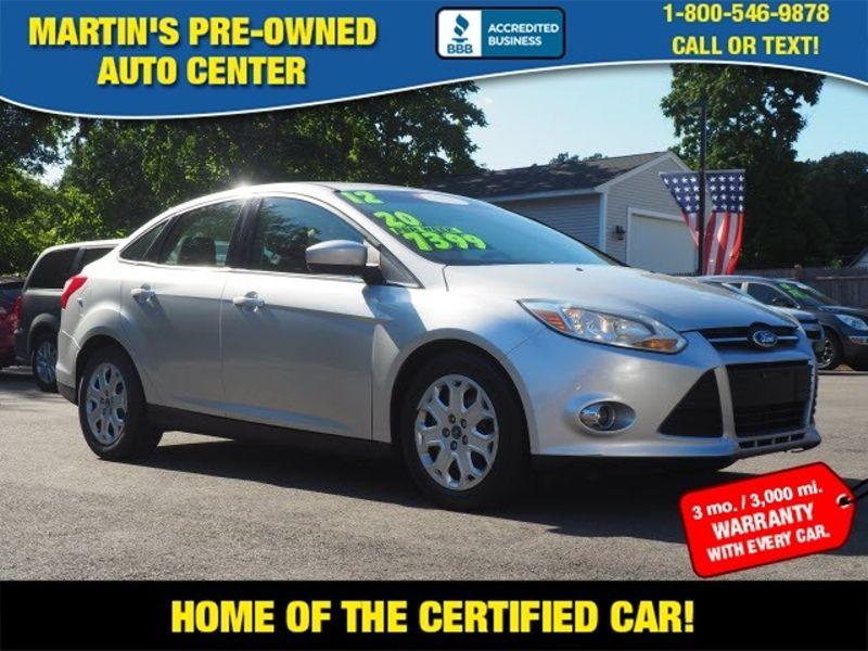 2012 Ford Focus SE | Whitman, Massachusetts | Martin's Pre-Owned