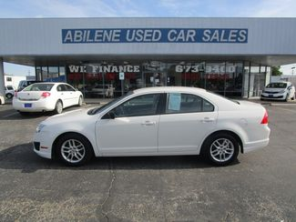 2012 Ford Fusion S  Abilene TX  Abilene Used Car Sales  in Abilene, TX