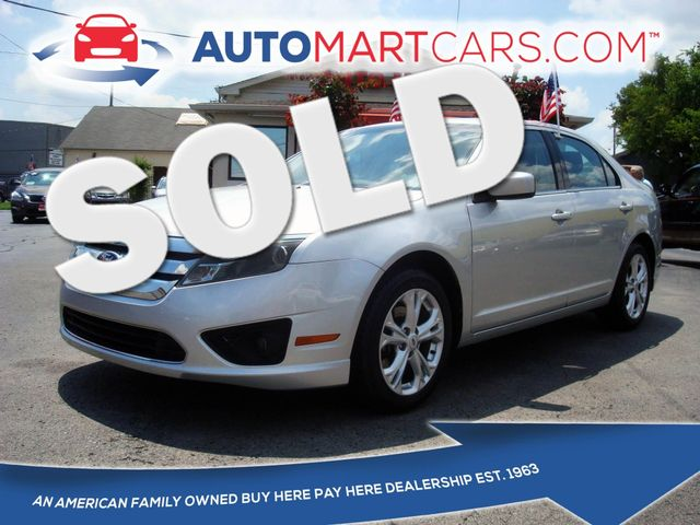 2012 Ford Fusion SE   Nashville, Tennessee   Auto Mart Used Cars Inc. in Nashville Tennessee