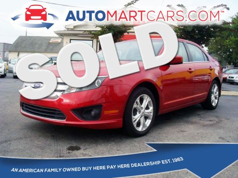 2012 Ford Fusion SE   Nashville, Tennessee   Auto Mart Used Cars Inc. in Nashville, Tennessee
