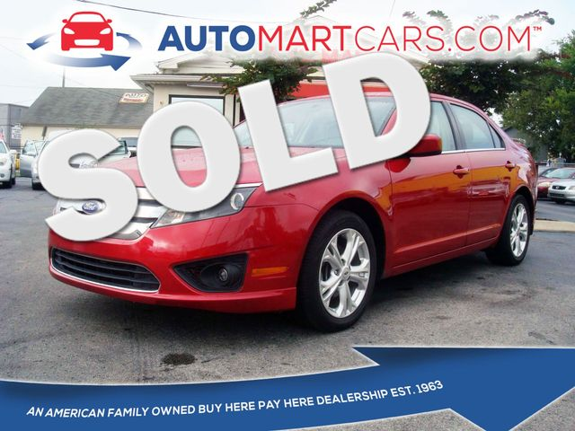 2012 Ford Fusion SE | Nashville, Tennessee | Auto Mart Used Cars Inc. in Nashville Tennessee