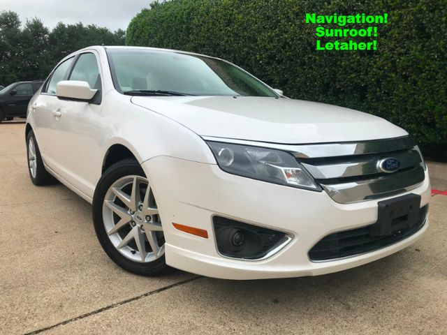 2012 Ford Fusion SEL w/Navigation**Sunroof**1-Owner**13 Svc Records