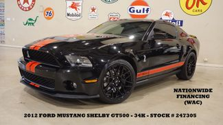 2012 Ford Mustang Shelby GT500 Coupe GLASS ROOF,NAV,RECARO,34K in Carrollton TX, 75006