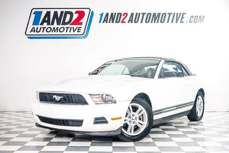 2012 Ford Mustang V6 Convertible in Dallas TX