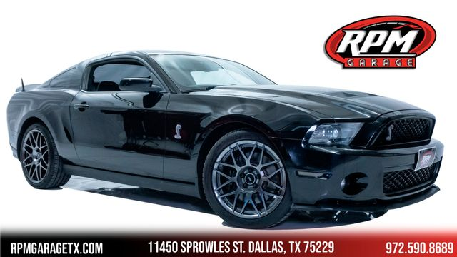 2012 Ford Mustang Shelby GT500 with Upgrades