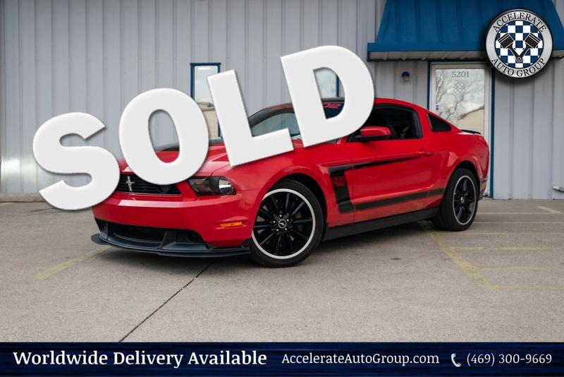 2012 Ford Mustang Boss 302 in Rowlett Texas