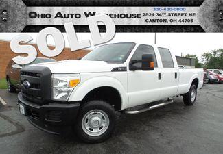 2012 Ford Super Duty F-250 4x4 Crew Cab V8 1-Owner Clean Carfax We Finance | Canton, Ohio | Ohio Auto Warehouse LLC in  Ohio