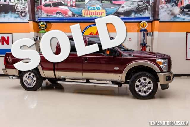 2012 Ford Super Duty F-250 Pickup King Ranch 4X4