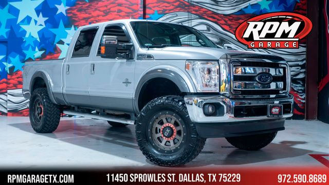 2012 Ford Super Duty F-250 Pickup Lariat Ultimate Pkg with Many Upgrades in Dallas, TX 75229