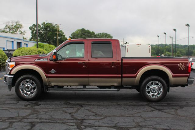 """2012 Ford Super Duty F-250 Pickup Lariat Crew Cab 4x4- 20"""" CHROME WHEELS- MICHELINS! Mooresville , NC 13"""