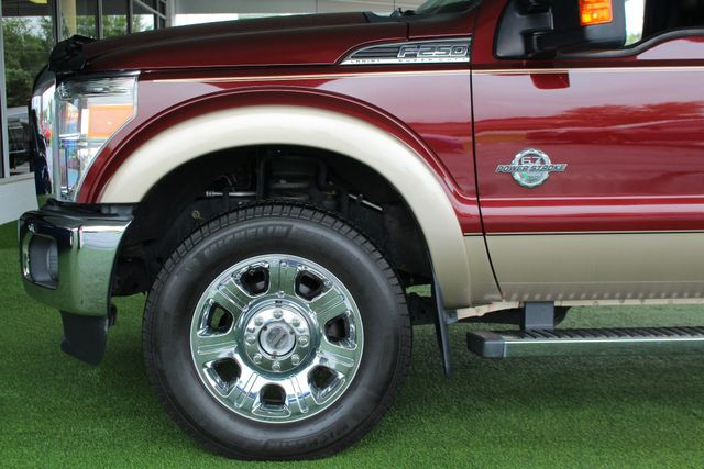 """2012 Ford Super Duty F-250 Pickup Lariat Crew Cab 4x4- 20"""" CHROME WHEELS- MICHELINS! Mooresville , NC 19"""