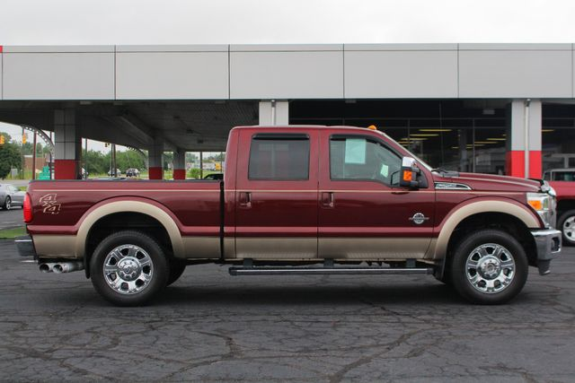 """2012 Ford Super Duty F-250 Pickup Lariat Crew Cab 4x4- 20"""" CHROME WHEELS- MICHELINS! Mooresville , NC 12"""