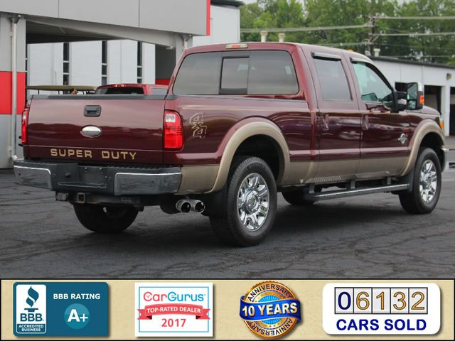 """2012 Ford Super Duty F-250 Pickup Lariat Crew Cab 4x4- 20"""" CHROME WHEELS- MICHELINS! Mooresville , NC 2"""