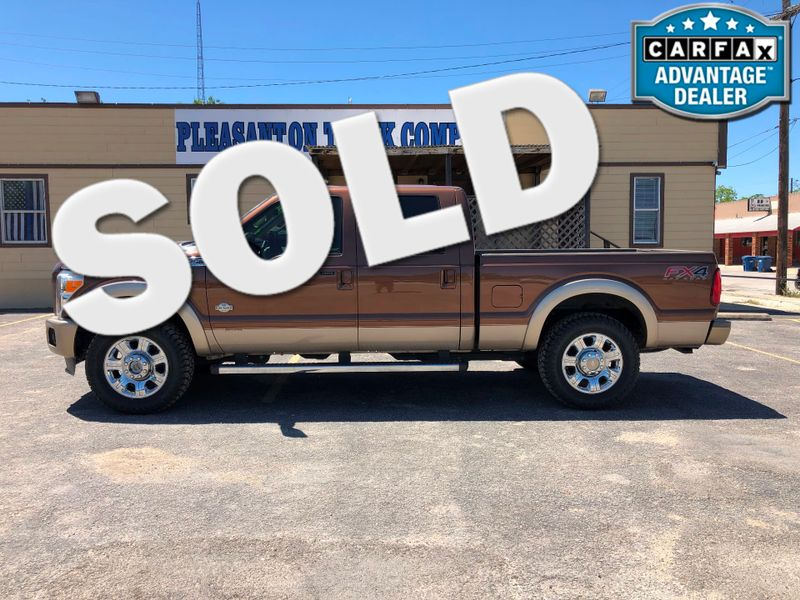 2012 Ford Super Duty F-250 Pickup King Ranch | Pleasanton, TX | Pleasanton Truck Company in Pleasanton TX