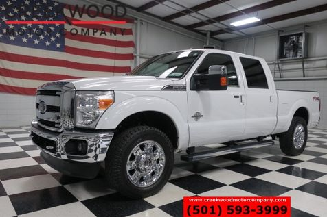 2012 Ford Super Duty F-250 Lariat FX4 4x4 Diesel Leather Chrome 20s 1 Owner in Searcy, AR