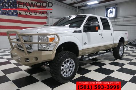2012 Ford Super Duty F-250 King Ranch 4x4 Diesel Lifted Chrome 20s Nav Roof in Searcy, AR
