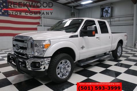 2012 Ford Super Duty F-250 Lariat FX4 4x4 Diesel 20s New Tires Nav Sunroof in Searcy, AR