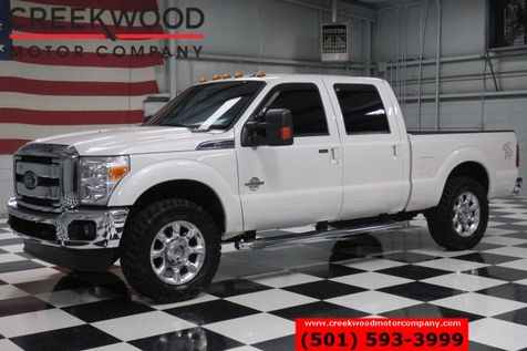 2012 Ford Super Duty F-250 Lariat 4x4 Diesel Low Miles Chrome 20s New Tires in Searcy, AR