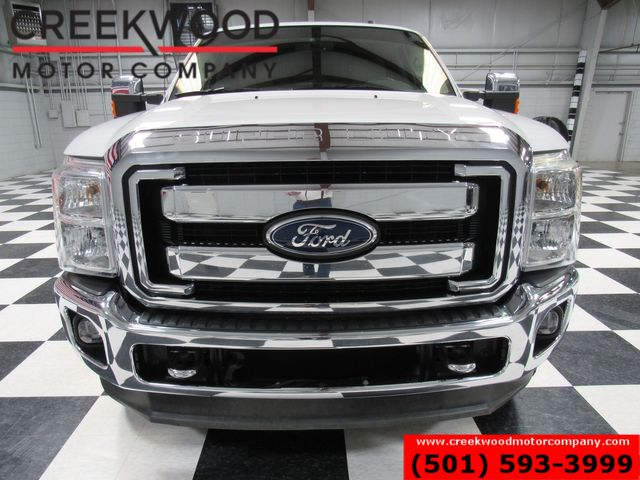 2012 Ford Super Duty F-250 Lariat 4x4 FX4 Diesel White Chrome 20s Nav Leather in Searcy, AR 72143