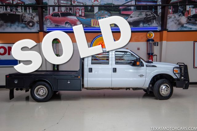 2012 Ford Super Duty F-350 DRW Chassis Cab XL 4x4