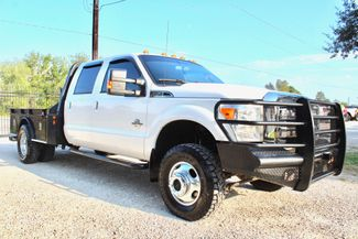 2012 Ford Super Duty F-350 DRW Lariat Crew Cab 4X4 6.7L Powerstroke Diesel Auto CM Bed in Sealy, Texas 77474
