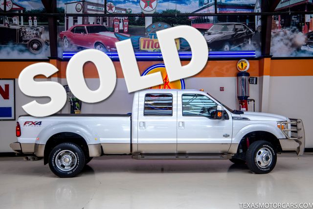 2012 Ford Super Duty F-350 DRW Pickup King Ranch 4x4 in Addison, Texas 75001
