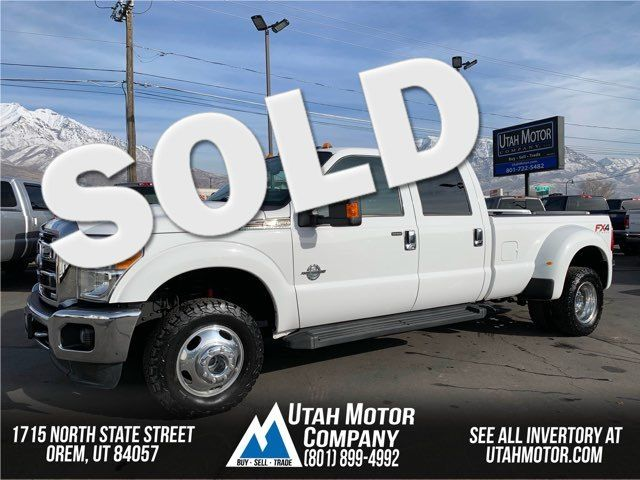 2012 Ford Super Duty F-350 DRW Pickup Lariat | Orem, Utah | Utah Motor Company in  Utah