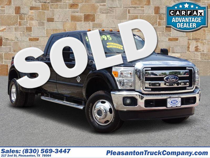 2012 Ford Super Duty F-350 DRW Pickup Lariat | Pleasanton, TX | Pleasanton Truck Company in Pleasanton TX
