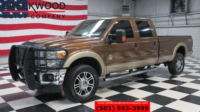 2012 Ford Super Duty F-350 F-250 Lariat 4x4 Diesel SRW Long Bed Leather 20s