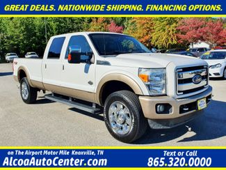 "2012 Ford Super Duty F-350 SRW Pickup King Ranch 4X4 6.7L V8 TDSL Navi/Sunroof/20"" in Louisville, TN 37777"