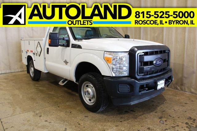 2012 Ford Super Duty F-350 Diesel utility bed tommy lift XL