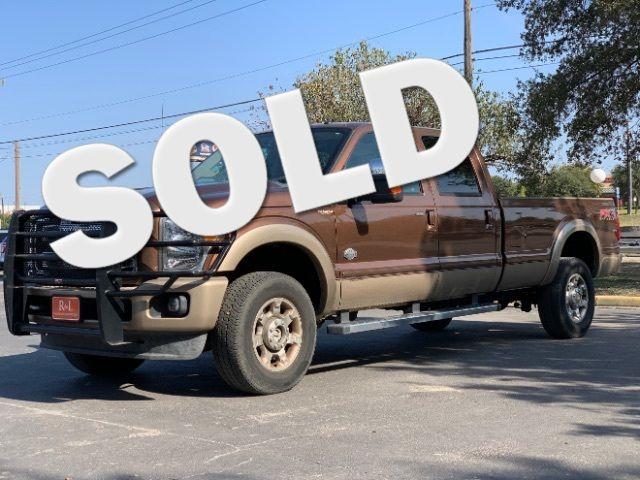 2012 Ford Super Duty F-350 SRW Pickup King Ranch in San Antonio, TX 78233